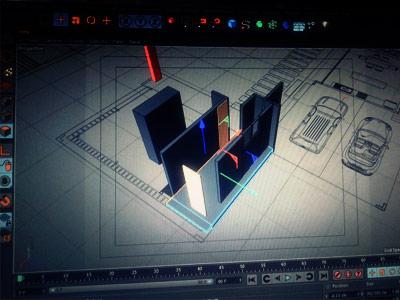 Animación y recorrido 3D